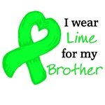 I wear LIME GREEN