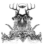White-tailed Deer Combo Ornate