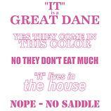 Great Dane Walking Answers PINK