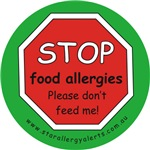 STOP food allergies. Please don't feed me!