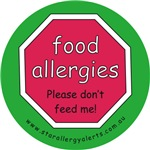 food allergies please don't feed me!