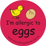 I'm allergic to eggs-red