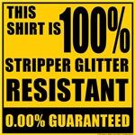 Stripper Glitter Resistant