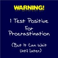 Test For Procrastination