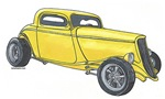 1933 High Boy Coupe