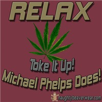 RELAX - Toke It Up Phelps Does!