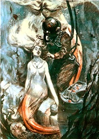Diver and the Mermaids