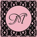 Pointe Pink Monogram