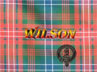 Wilson Tartan & Badge Women's Clothing