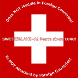 Swiss Cross/Peace  Men's Clothing