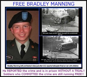 Free Bradley Manning Children's Clothing