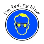 I'm feeling blue