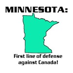 Minnesota first line of defense against Canada