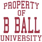 Property of B BALL University