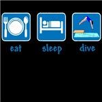 eat sleep dive (board)