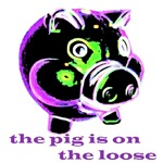 SCARY PIG ON THE LOOSE