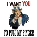 I want you to pull my finger