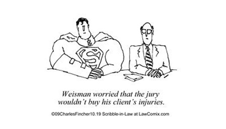 Superman's Personal Injury Suit