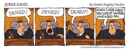 Judge Gavel's Bad Day