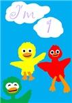 I'm 1 Birthday Birds