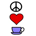 Peace Love Coffee 2