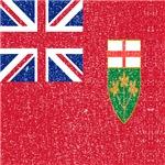 Vintage Ontario Flag