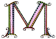 What Fun Monogram M