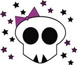 Skull with Stars