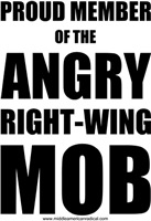 Angry Right-Wing Mob