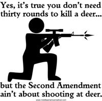 The Second Amendment Ain't About Deer