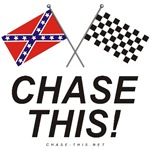 REBEL & CHECKERED FLAG<br />LARGE CHASE THIS!
