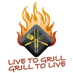 LIVE TO GRILL<br />GRILL TO LIVE