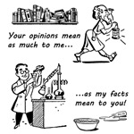 Opinions vs Facts