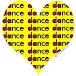 Dance Heart Yellow