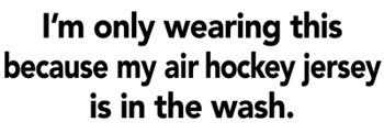 Air Hockey Jersey