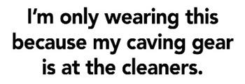 Caving Gear