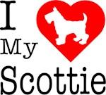 I Love My Scottish Terrier