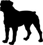 Rottweiler Silhouette