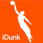Basketball iDunk Silhouette