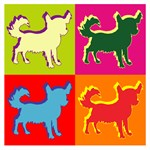 Chihuahua Silhouette Pop Art