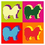 Chow Chow Silhouette Pop Art