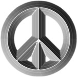 Metal Peace Symbol Shirts