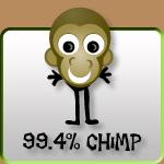 99.4% Chimp