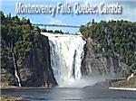 Montmorency Falls at Large
