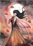 Autumn Dreams Fairy Fantasy Art