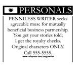Writer Seeks Muse