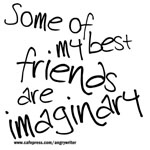 My Friends are Imaginary