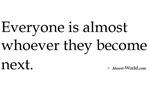 almost-being