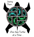 Save the Turtles - Columbian Design