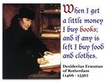 Erasmus on Buying Books